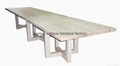 4 Meter Wooden Table European Furniture #6399