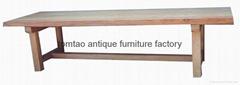 2.8 Meter Rectangular Wooden Table #6366