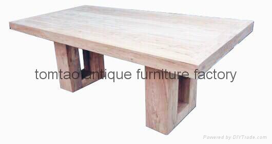 3 Meter Solid Wood Table #6300 1