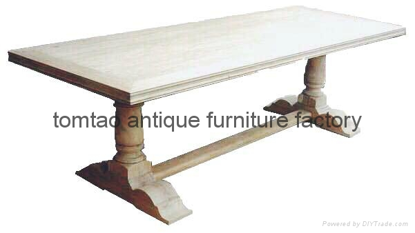 Hot Sale Elm Wood Dining Table #6288 1