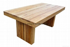 2 Meter Hot Sale Wooden Dining Table #6200