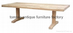 Reclaimed Wood Dining Table Home Furniture #6177