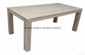 2 Meter Solid Wood Table Home Furniture #6122 1
