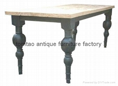 European Style Wooden Dining Table Wholesale #6077
