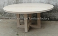 Heavy-duty Round Dining Table Home Furniture #6599 2