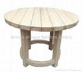 老榆木傢具,老榆木圓台,實木圓台