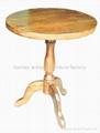 榆木圆餐台