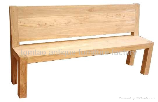 Old Wood Bench Garden Bench Wholesale #3577 1