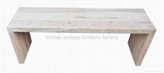 Elm Wood Bench Wholesale Furniture #3566