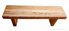 Hot Sale Wooden Bench Home Furniture #3555