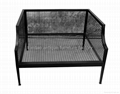 One Seat Sofa, Iron Frame Outdoor Furniture #3033 (Hot Product - 1*)