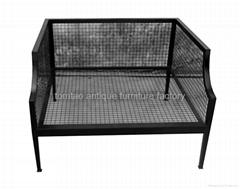 One Seat Sofa, Iron Fram