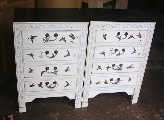 small cabinet with drawings 4