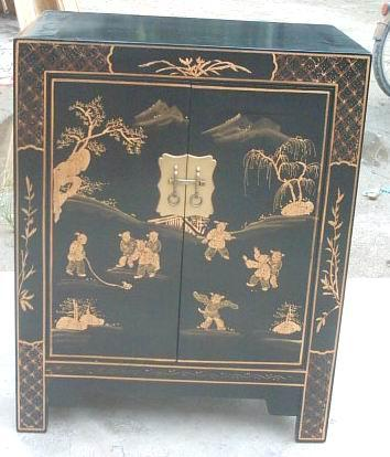 small cabinet with drawings 7