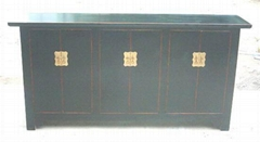 antique re[roduction buffet 6 doors