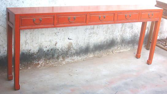 antique reproduction console tables