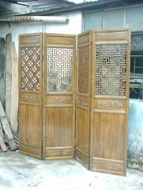 Chinese antique reproduction screens 1
