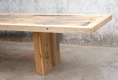 rustic looking wooden furniture,recycled wood dining table 3