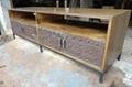 榆木鐵架鐵飾面電視櫃
