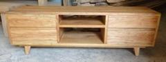 elm wood TV cabinet 4drawers