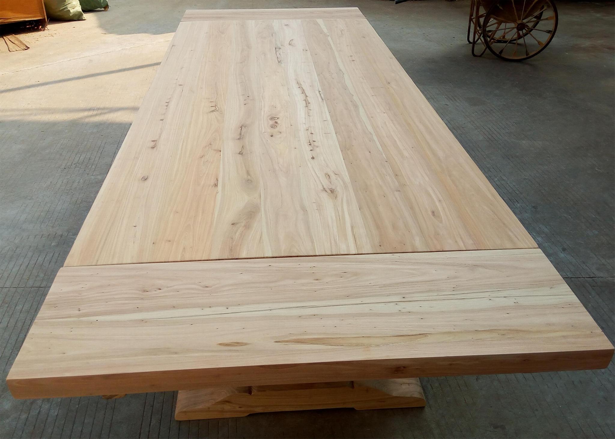 extendable elmwood dining table 4