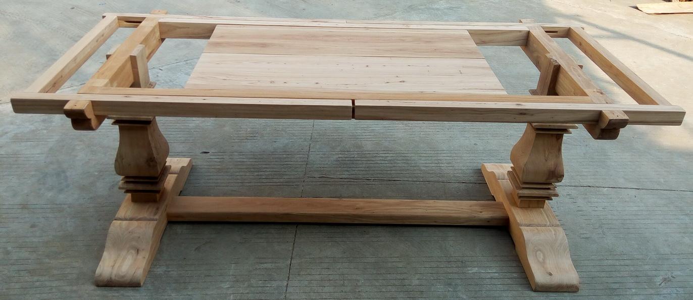 extendable elmwood dining table 5