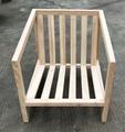 elm wood sofa,fabric cushion,single seat 2