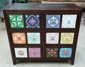 Portugese tile style designs cabinet