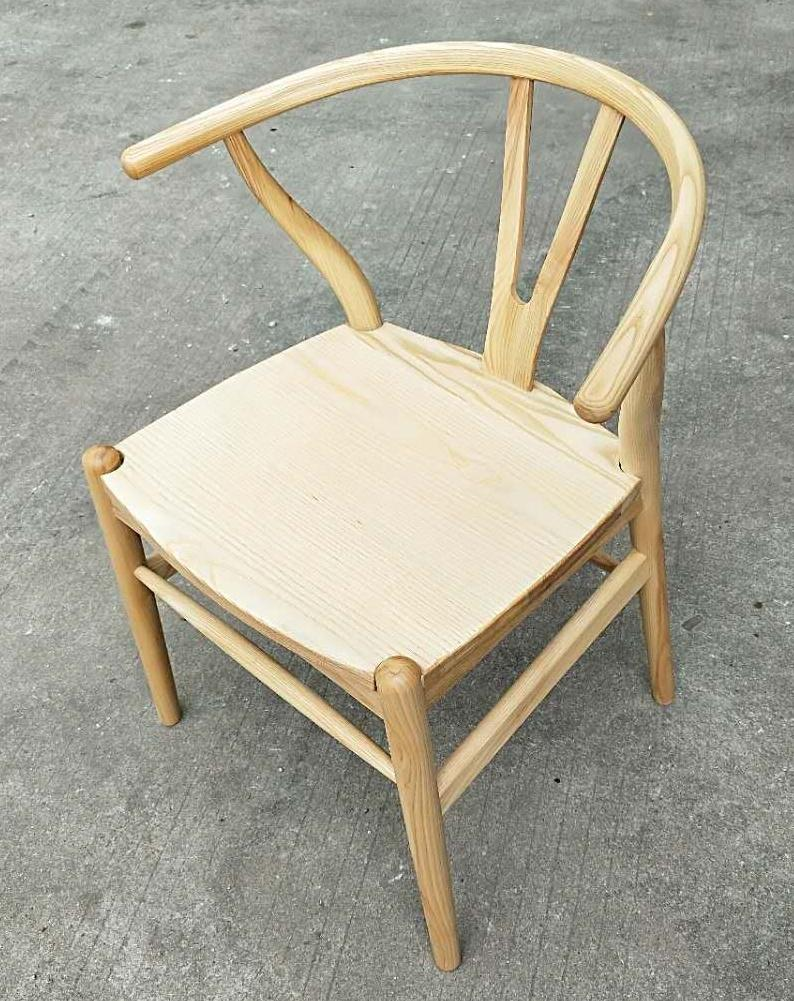 ash wood chair, new Chinese style 1