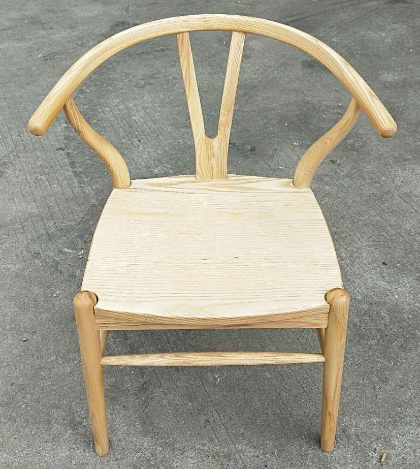 ash wood chair, new Chinese style 2