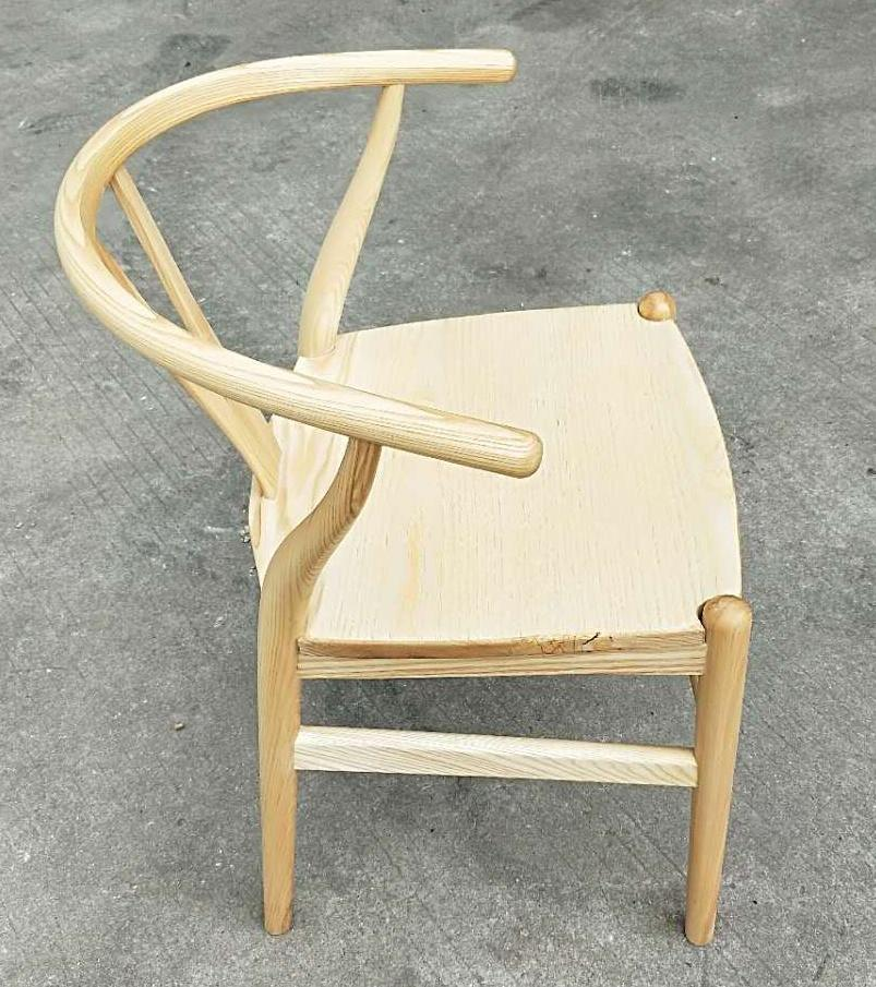 ash wood chair, new Chinese style 3