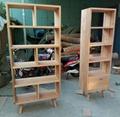 oak wood bookshelf 1