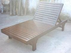 室外木躺椅
