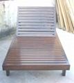 室外傢具,木躺椅 3