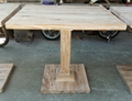 solid elmwood bar table