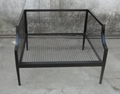 iron sofa,leasure furniture,with cushion