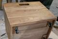 榆木長凳,下配3個可移動鞋盒 2