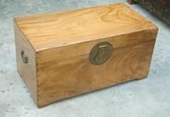 wooden camphor box