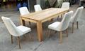 歐式餐台,配6張餐椅