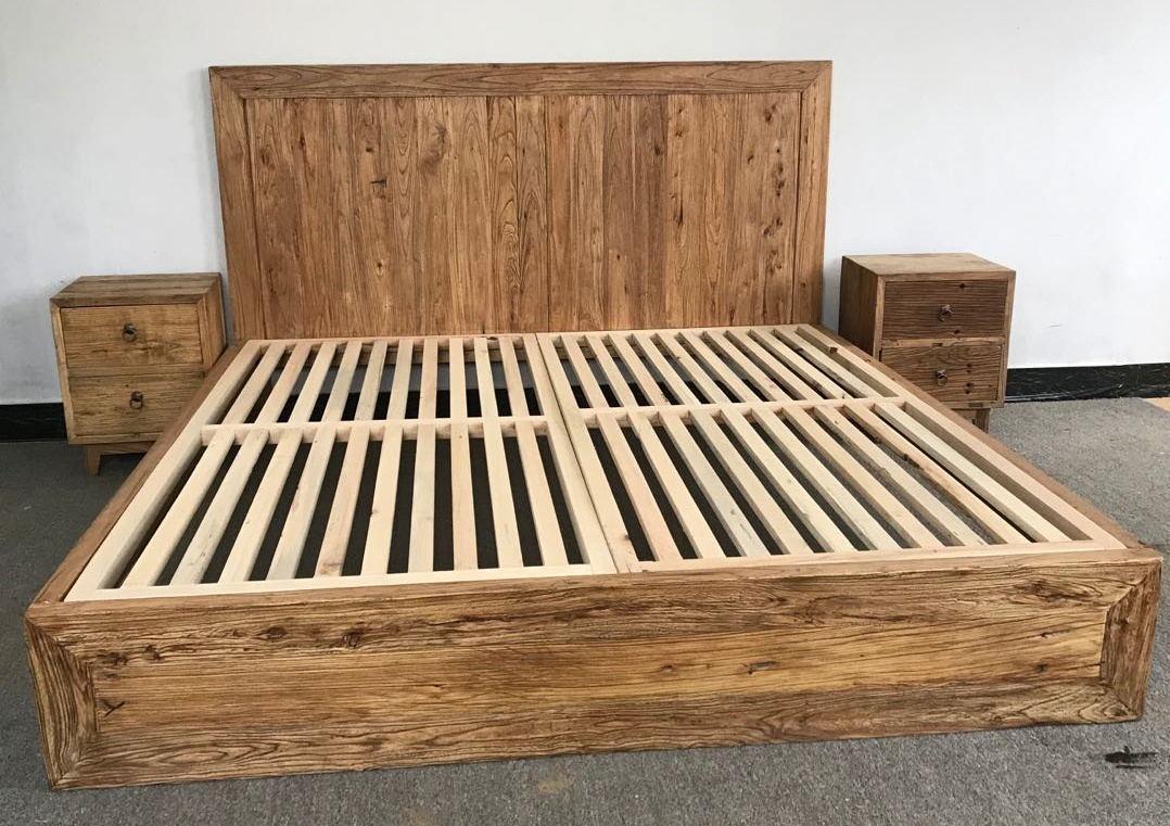 bed set,rustic looking furniture 1
