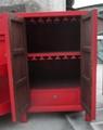酒柜,含酒架,挂杯架,转动门 3