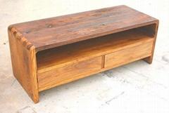 老榆木風化傢具,電視櫃