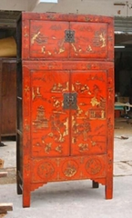 antique reproduction cabinet