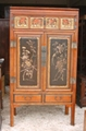 antique  cabinet with carvings