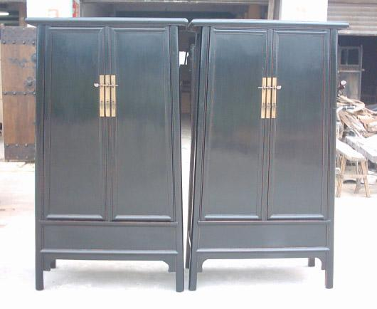 antique reproduction cabinets 1
