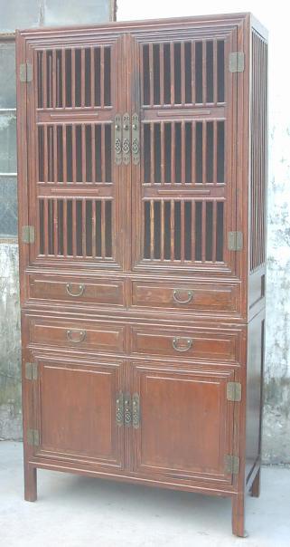 antique reproduction kitchen cabinet 1