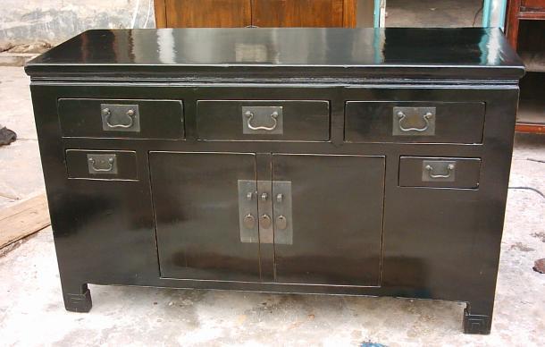 antique reproduction buffet 1