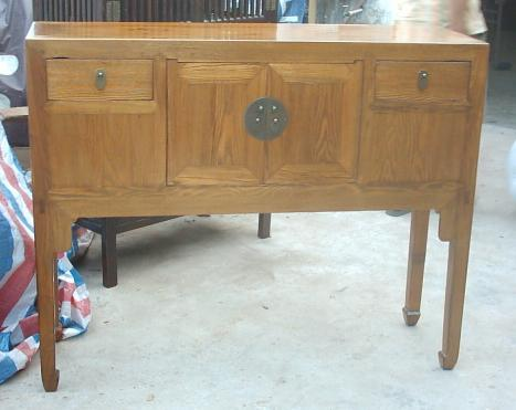 antique reproduction high buffet 1