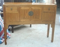 antique reproduction high buffet
