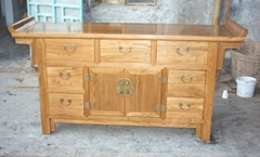 antique reproduction buffet
